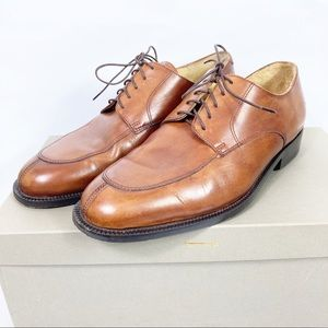 Cole Haan Brown Lace up Dress Shoes Oxfords 8.5